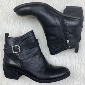 Vince Camuto | Beamer Leather Ankle Boots